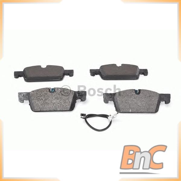 Fits Peugeot 508 2.0 HDi 140 Genuine OE Textar Rear Disc Brake Pads Set
