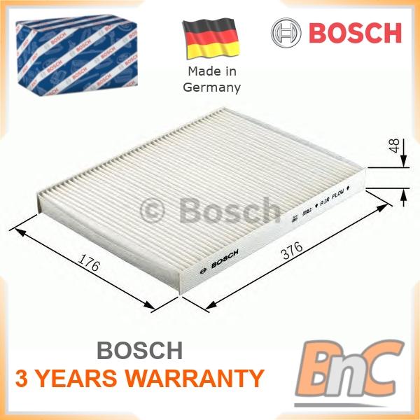 Citroen Dispatch 140 2.0D Pollen//Cabine 2007 Filtre Pour Bosch 6447YK 6447YJ nouveau