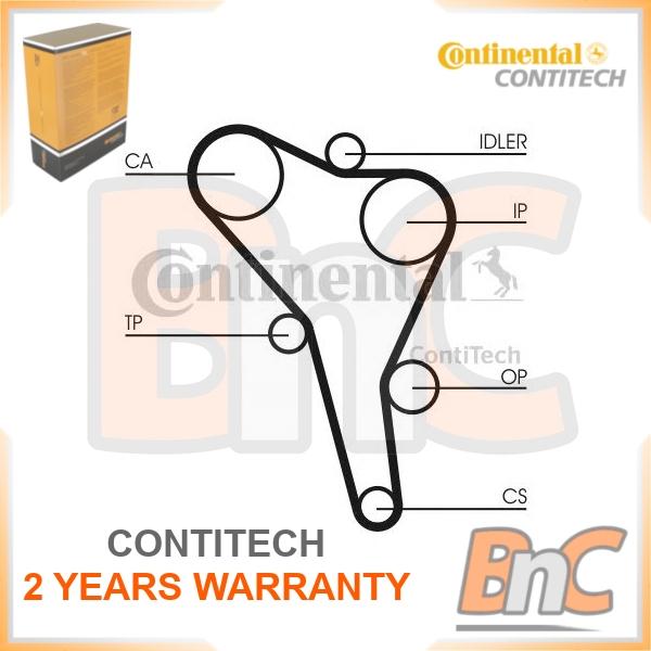 CONTITECH CT867K1 Kit de courroie de distribution AUDI SEAT  VW