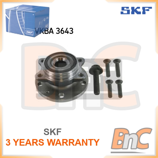 febi bilstein 27317 Wheel Bearing Kit with wheel hub and additional parts pack of one